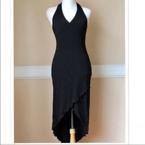 City Triangles Dresses & Skirts - Marilyn hi-low midi w/ subtle silver threading