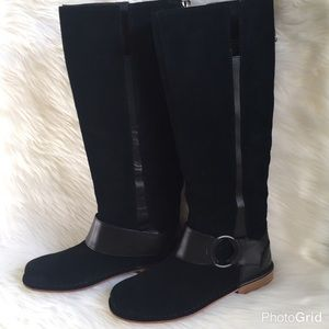 OluKai Shoes - CHIC SUEDE RIDING BOOTS