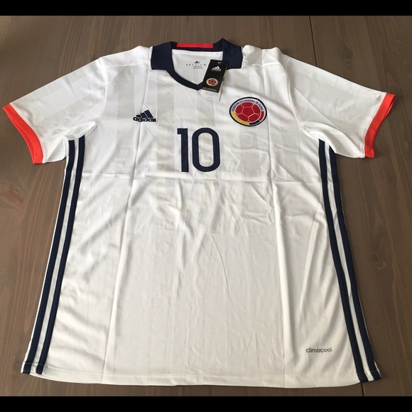 watch 2353f 99a97 Colombia National team James #10 adidas soccer NWT