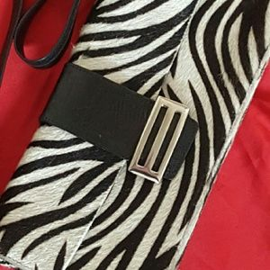 Carla Mancini Handbags - Carla Mancini Zebra Calf Hair Purse