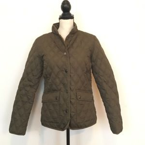 Barbour Jackets & Blazers - Faded Glory quilted barn/field jacket.  Sz S (4/6)