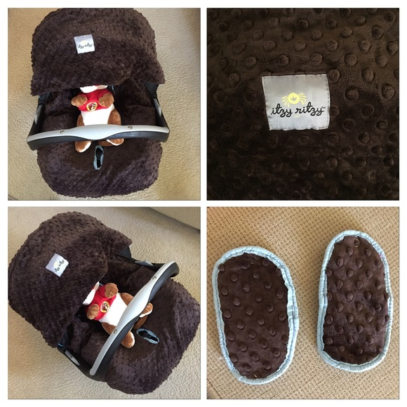 49 off itzy ritzy other itzy ritzy cover car seat set from ayadi 39 s closet on poshmark. Black Bedroom Furniture Sets. Home Design Ideas
