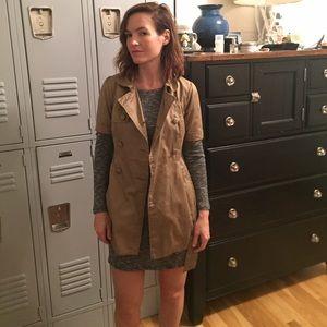 H&M Khaki Jacket, size 2.