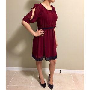 Enfocus Studio Dresses & Skirts - Burgundy/Wine Colored Dress
