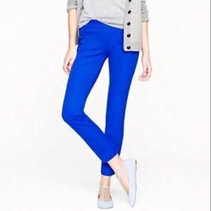 J. Crew Pants - J. Crew Royal Blue Minnie Pants Size:2 EXCELLENT