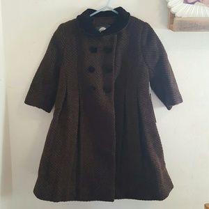Isabel Garreton Other - NWT Isabel Garreton chocolate brown toddler's coat
