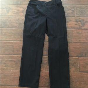 Pants - Black trouser pants