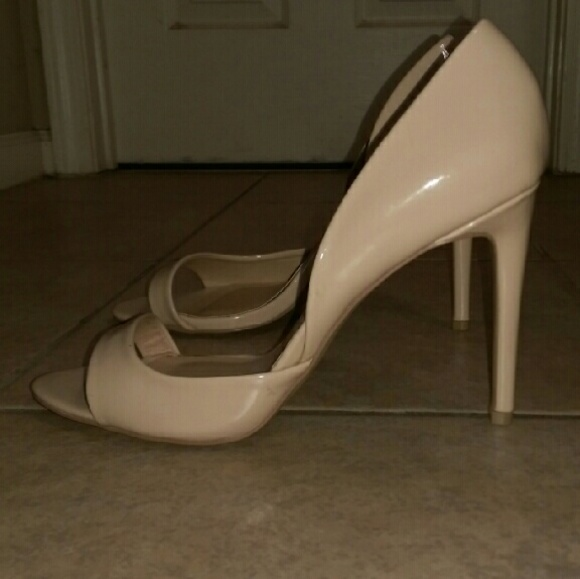 49% off Steve Madden Shoes - Steve Madden Nude Heels--Size 11 from ...