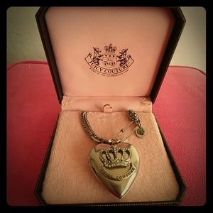 Juicy Couture Jewelry - Juicy Couture punk heart locket