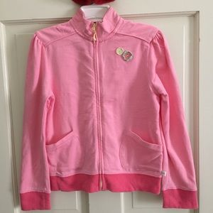 Osh Kosh Other - Light pink jacket with zipper