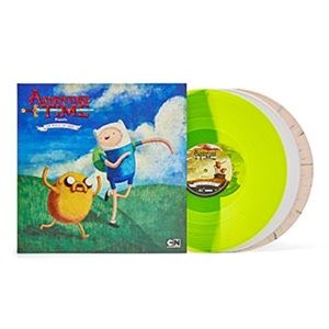 adventure time Other - Adventure Time Vinyl Record LP Soundtrack Colored!