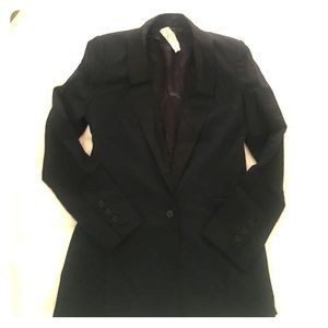 Bird by Juicy Couture Jackets & Blazers - Bird by Juicy Couture Navy/Black tuxedo blazer.
