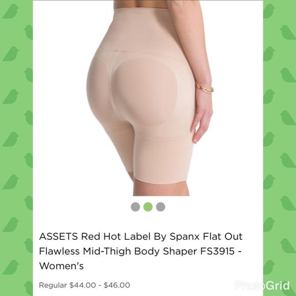 53118c4eeaf1 SPANX Intimates & Sleepwear | Fs3915 Flawless Midthigh Tummy Shaper ...