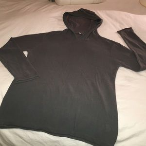 T by Alexander Wang Tops - T by ALEXANDER WANG COTTON KNIT HOODIE PULLOVER