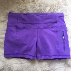 lululemon athletica Pants - NWT Lululemon Purple Run Fast Track Shorts