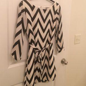 Dresses & Skirts - Chevron dress size 3