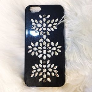 BAUBLEBAR Accessories - Baublebar iPhone 6 black jeweled phone case