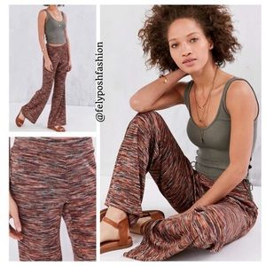 Urban Outfitters Ecote Marcy Pull-On Flare Pants