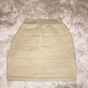 2 Cute Dresses & Skirts - Beige Skirt