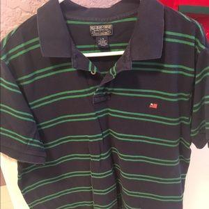 Polo Ralph Lauren Men's Stripped Collared Shirt