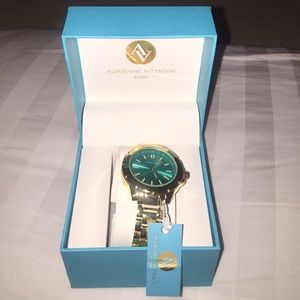 Adrienne Vittadini Jewelry - ☀️Gorgeous gold and turquoise watch☀️