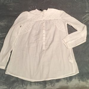 Zara Other - Zara white top with buttons