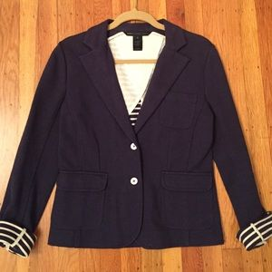 Marc By Marc Jacobs Navy Blazer