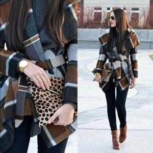 Chicwish Jackets & Blazers - 🎉🎉CHICWISH🎉🎉Praire Check Robato Coat