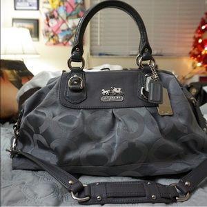 Coach Handbags - SALE!! Coach Madison Op Art Sabrina Satchel