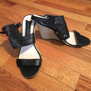 Boutique 9 Shoes - Black Wedges