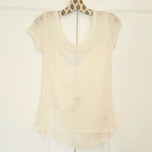 Bird by Juicy Couture Tops - BIRD by Juicy Couture sheer linen top