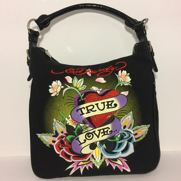 Ed Hardy Handbags - 🎄 SALE! Ed Hardy True Love Shoulder Bag cbadfcc52b0a8