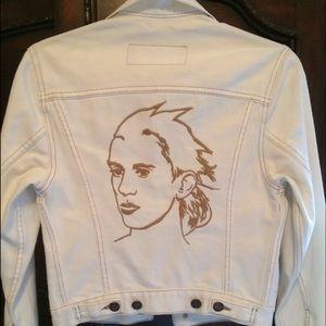 Jeremy Scott Jackets & Blazers - Jeremy Scott Moschino Paris Runway Denim Jacket XS