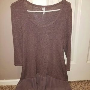 Sweaters - Purple flowy sweater