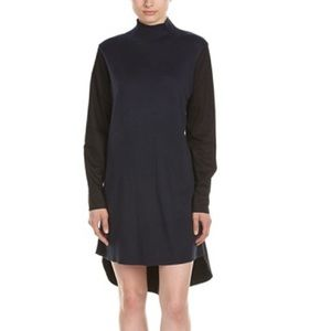 French Connection Navy and Black Naomi Shirt Dress
