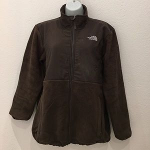 The North Face Other - The North Face Girls Brown Fleece Jacket size XL
