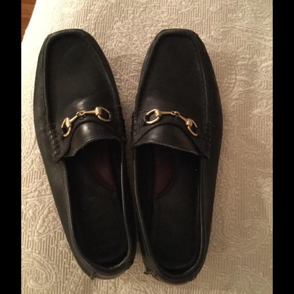 Gucci Shoes   Black Gucci Driving Mocs