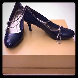 Payless Shoes - Navy ComfortPlus Pumps