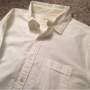 Billy Reid Other - Billy Reid Large Button down Shirt - White