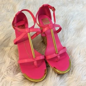 Dolce Vita Shoes - Dolce Vita Pink Wedges | size 10