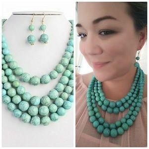 Umi Jewelry - Turquoise set