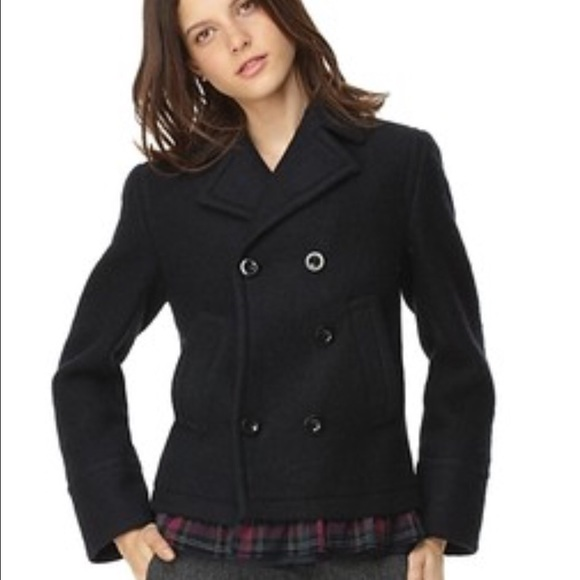 Marc by Marc Jacobs Jackets & Blazers - New Marc by Marc Jacobs Marlene boiled woolpeacoat