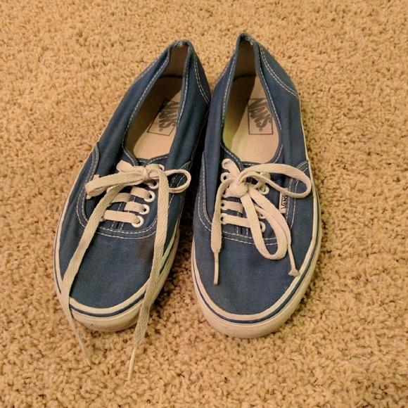 5006fcc9a216dd Blue Authentic Vans original. M 5848e55a36d594e9bf00fbb5
