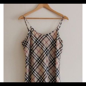 BURBERRY CAMISOLE/TOP