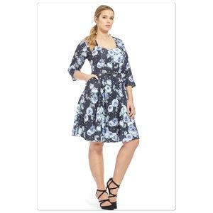 City Chic Dresses & Skirts - New City Chic floral dress