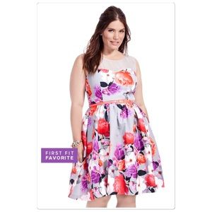 City Chic Dresses & Skirts - City Chic floral dress