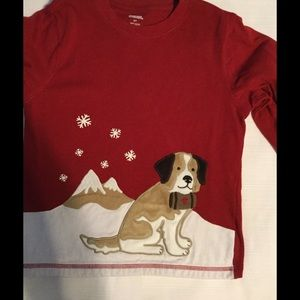 Gymboree Other - 🐶GYMBOREE red  Christmas long sleeve shirt 5