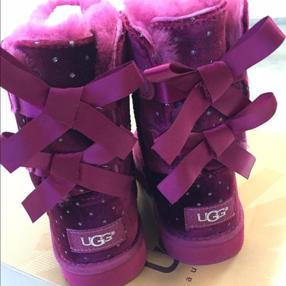 dda8c609ddd Ugg Bailey bow starlight boots size 13 new