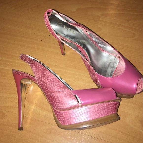 578d6bb445f2 bebe Shoes - 💗💓💗💓Bebe pink stilettos heels