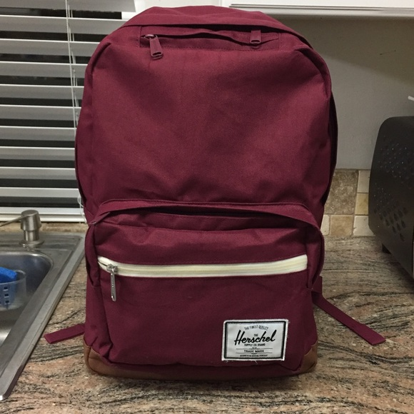 8e2f5498462 Herschel Supply Company Handbags - Authentic HERSCHEL Maroon Laptop Backpack  Bag